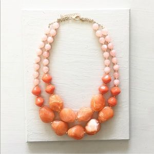 Handmade Colorblock necklace